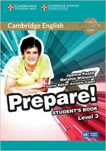 Cambridge English Prepare 3 Alumno